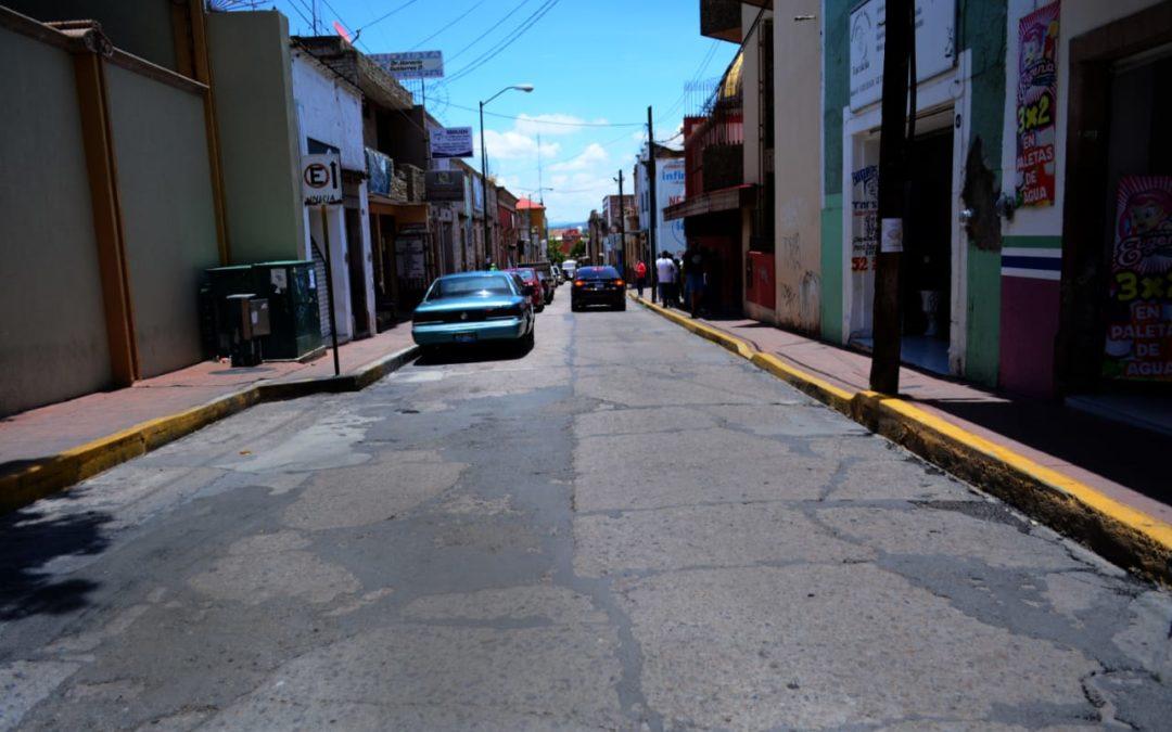 INICIARÁ SEGUNDA ETAPA DE MEJORAMIENTO DE CALLES EN CENTRO HISTÓRICO