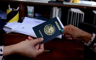 QUIENES TRAMITARON PASAPORTE MEXICANO ANTES DEL 28 DE MARZO DEBEN RECOGERLO