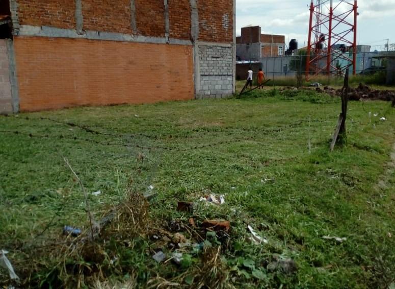 REALIZAN LABORES DE LIMPIEZA EN EL FRACCIONAMIENTO EL CUITZILLO