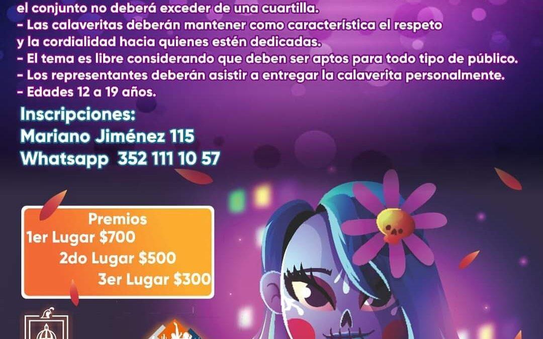 INVITAN A CONCURSO DE CALAVERITAS 2020