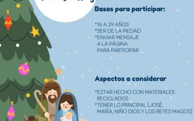 INVITAN A PARTICIPAR EN CONCURSO DE MAQUETA DE NACIMIENTOS