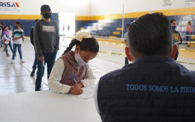 CON ESTRICTOS CONTROLES SANITARIOS COMENZÓ EL PAGO DE BECAS MUNICIPALES