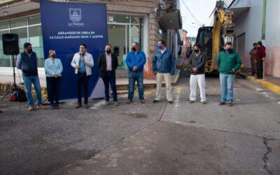 INICIA MEJORAMIENTO DE CALLE EN LA ZONA CENTRO DE LA PIEDAD