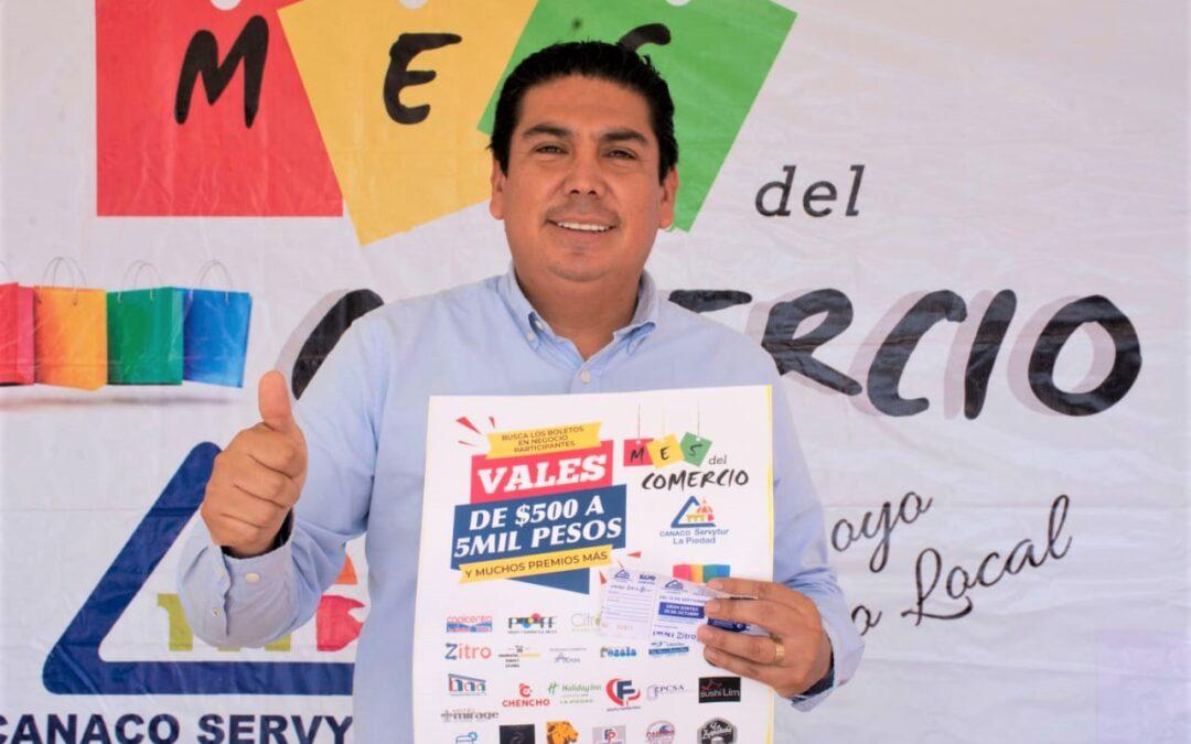 INVITAN A PARTICIPAR EN EL MES DEL COMERCIO